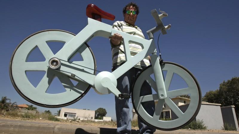 Изобретатель картонного велосипеда запускает краудфандинговую кампанию