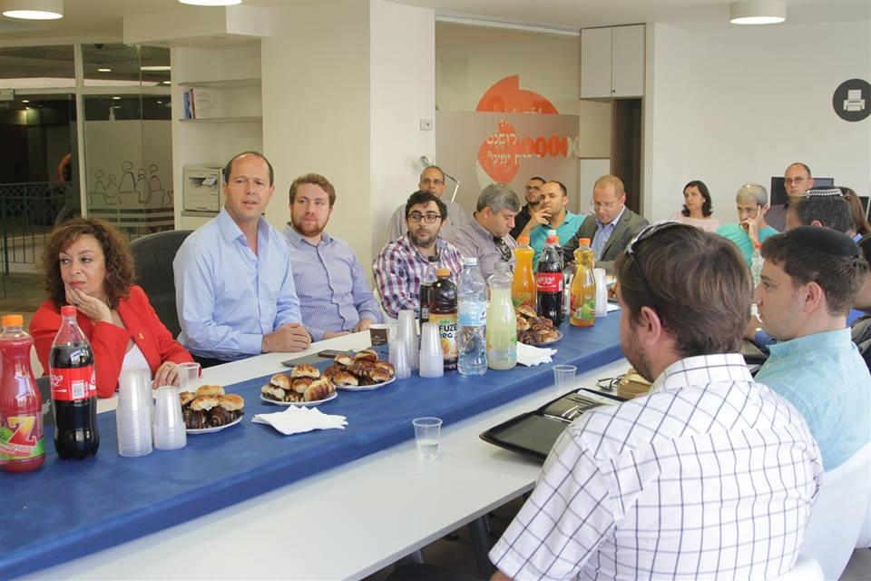 Нир Баркат в Jerusalem Startup Hub