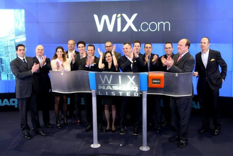 Израильский стартап Wix вышел на IPO