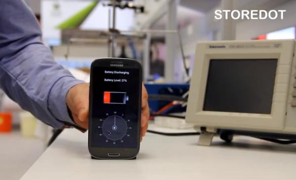 Израильский стартап StoreDot: зарядка телефона за 30 секунд