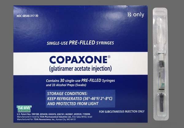 Копаксон – первое лекарство от рассеянного склероза