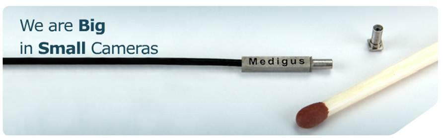 Medigus – самая маленькая в мире видеокамера