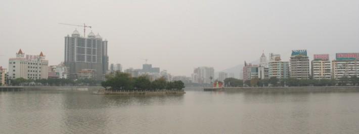 Китайский Шаогуань стал израильским «городом воды»