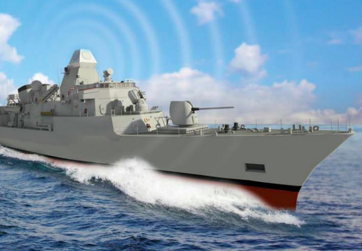 В Индии создан новый боевой корабль с израильскими технологиями