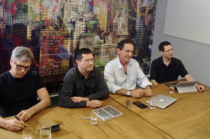 Разработчики Phree: Элиша Таль, Офер Кинрот, Гилад Ледерер, Ури Кинрот (слева направо)