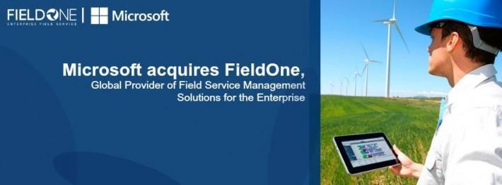 Microsoft поглощает израильский стартап FieldOne