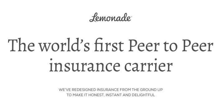 Израильский стартап Lemonade привлекает $13 млн