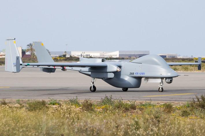 ЦАХАЛ удвоит эскадрилью ударных БПЛА Heron TP