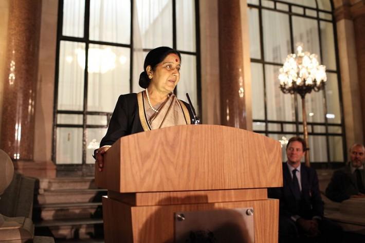 Биньямин Нетаниягу встретился с главой МИД Индии Сушмой Сварадж