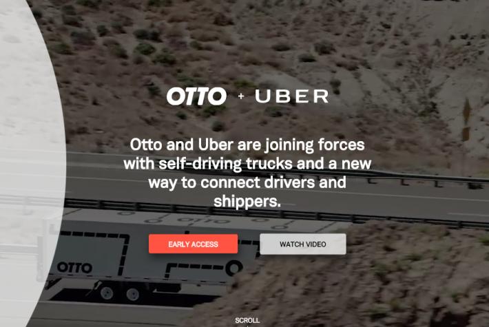 Uber поглощает американо-израильский стартап Otto