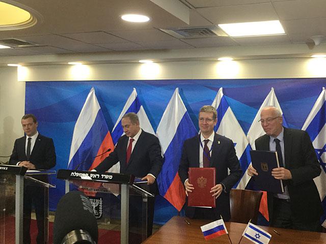 Израиль и Россия подписали соглашение в области агротехнологий