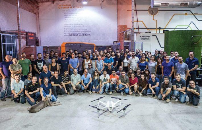 Израильский стартап Airobotics привлекает $32,5 млн