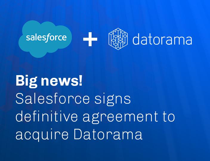 Salesforce поглощает израильский стартап Datorama за $850 млн